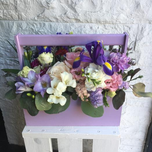 Лиловое настроение: букеты цветов на заказ Flowwow