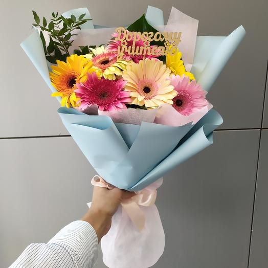 Дорогому учителю: букеты цветов на заказ Flowwow
