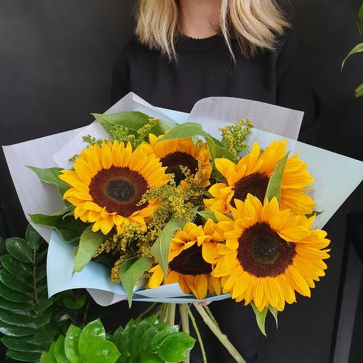 Полотно Ван Гога: букеты цветов на заказ Flowwow