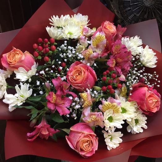 Bouquet 3: букеты цветов на заказ Flowwow