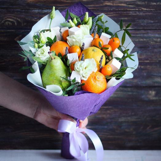 Фруктовый букет ЮПИ Литтл: букеты цветов на заказ Flowwow
