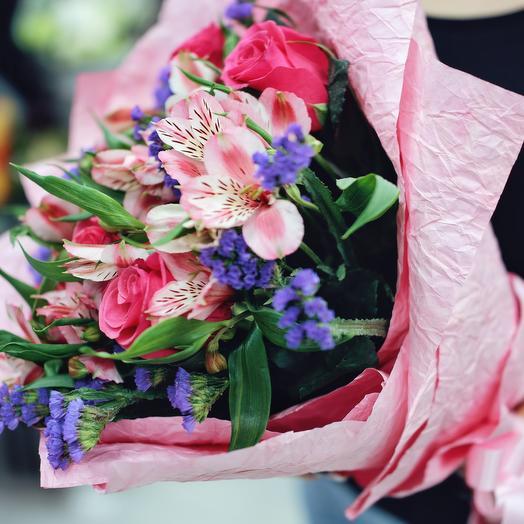 Bouquet magic round dance
