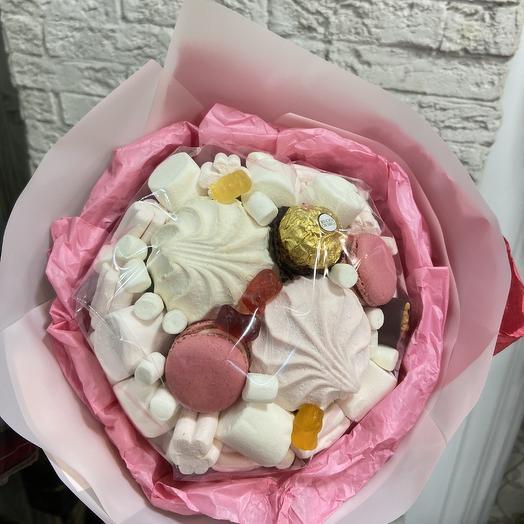 Очень вкусный букет: букеты цветов на заказ Flowwow