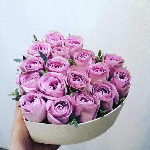 Розы в коробочке