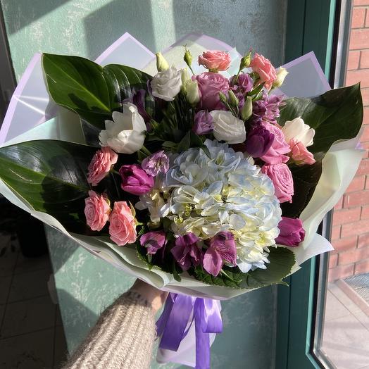 Валентинка для любимой 💓: букеты цветов на заказ Flowwow