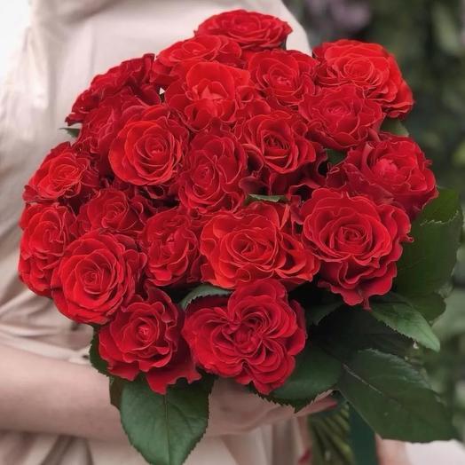Букет из роз эльторо