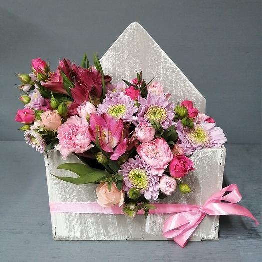 Цветочной письмо: букеты цветов на заказ Flowwow