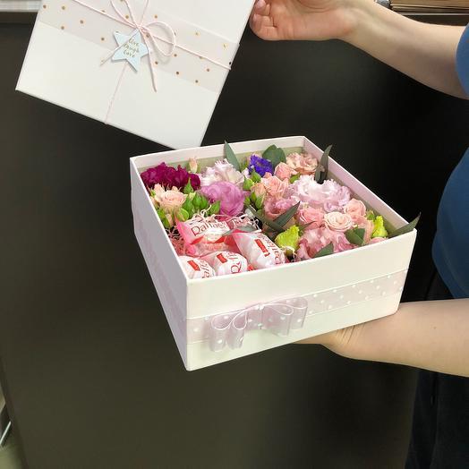Sweet Box: букеты цветов на заказ Flowwow
