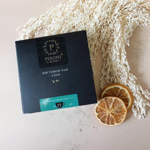 """Листовой чай """"Молочный улун"""" 40 грамм"""
