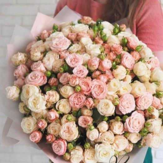 Букет кустовые Роза моно