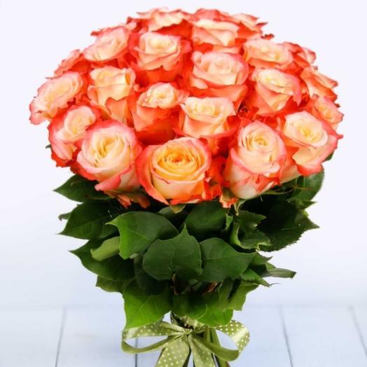 Букет из роз Кабарет