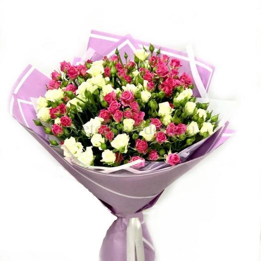 Букет Роза мелкоцветка