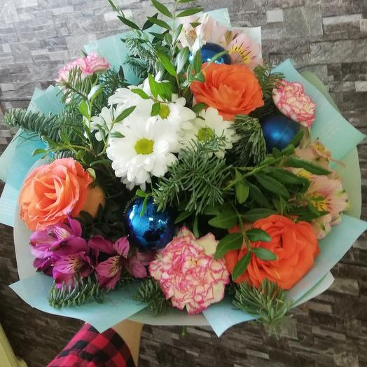 """Bouquet """" new year's tenderness"""""""
