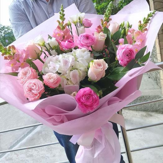"""Букет """" Pink Ohara"""""""