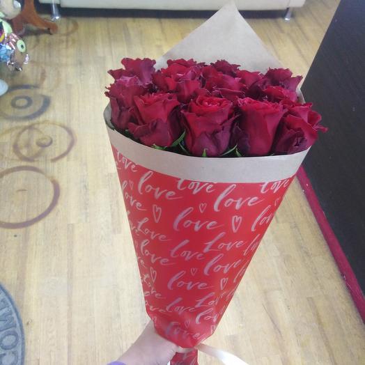 Шикарный букет (премиум роза Эксплорер 60см)