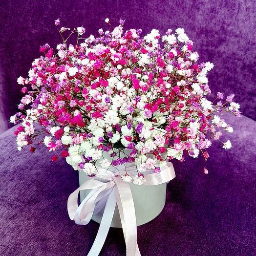 Цветы в коробке Звёздочки