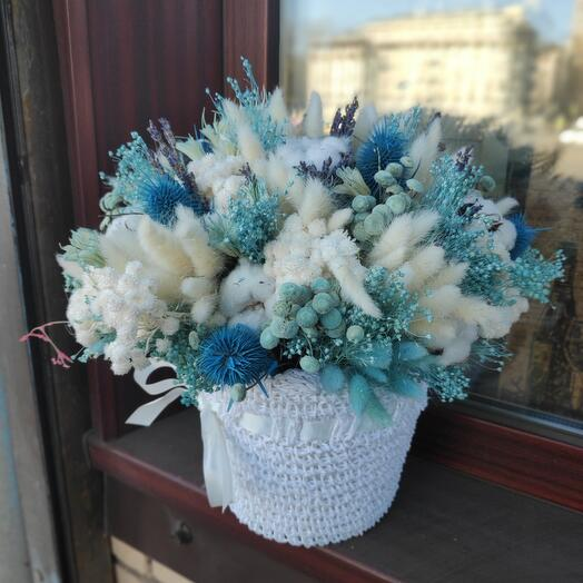Сухоцветы /композиция