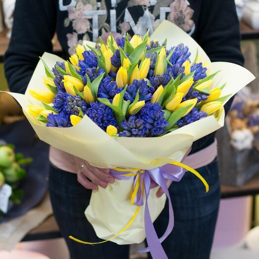 Букет цветов Мечта о весне