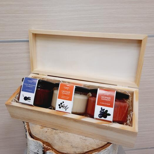 Honey collection in a box