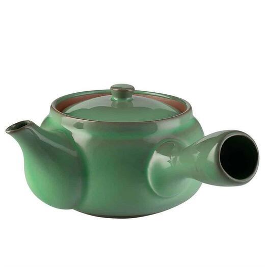 "чайник японский ""Изумруд"", глина, 370 мл 1 шт"