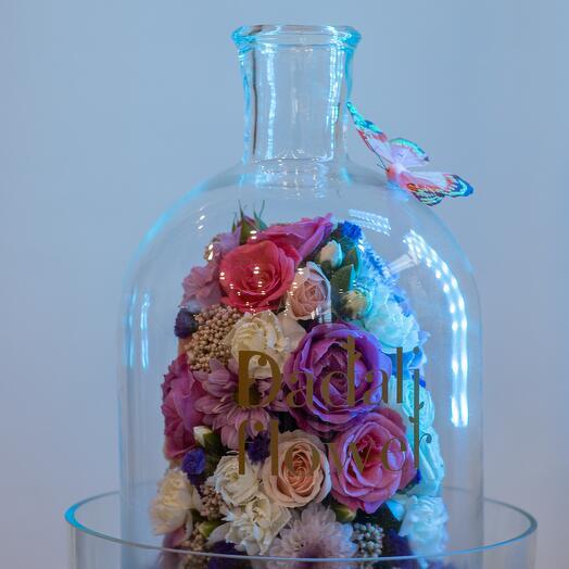 Флорариум Бутылка