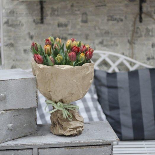 Princess - 25 тюльпанов: букеты цветов на заказ Flowwow
