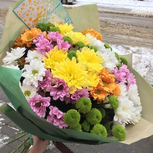 Подари настроение: букеты цветов на заказ Flowwow