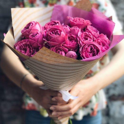 Малиновый щербет: букеты цветов на заказ Flowwow