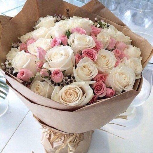 "Букет ""Воздушный замок"": букеты цветов на заказ Flowwow"