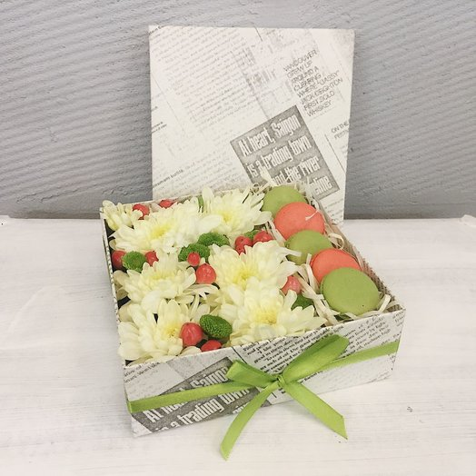 Ванильный фрэш: букеты цветов на заказ Flowwow