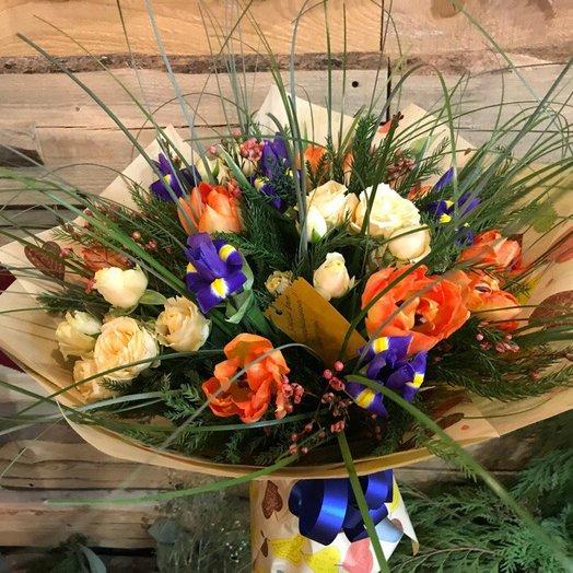 Букет Яркий Бум: букеты цветов на заказ Flowwow