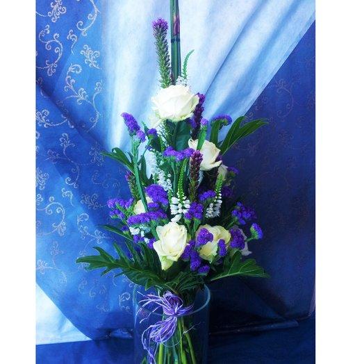 За океанами с розами: букеты цветов на заказ Flowwow