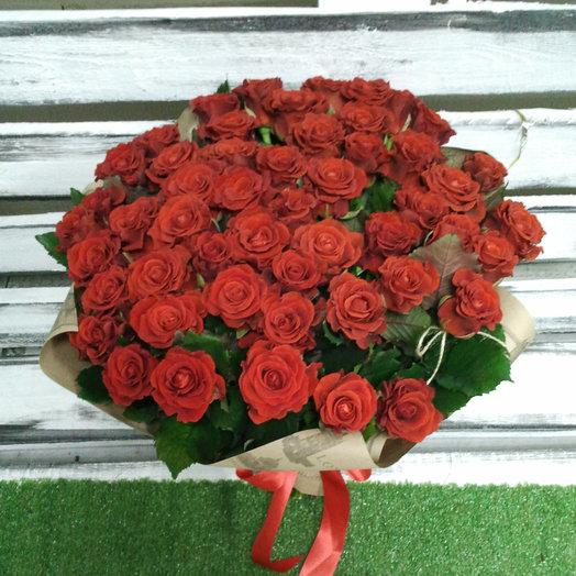 Эль Торо в крафт: букеты цветов на заказ Flowwow