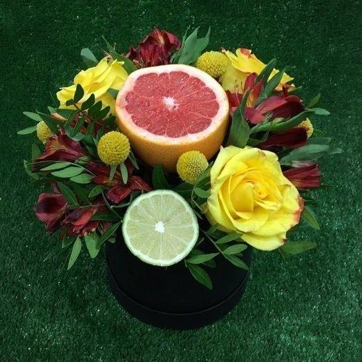 Цветы с фруктами