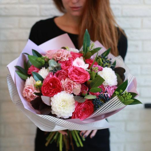 Ягодный щербет: букеты цветов на заказ Flowwow