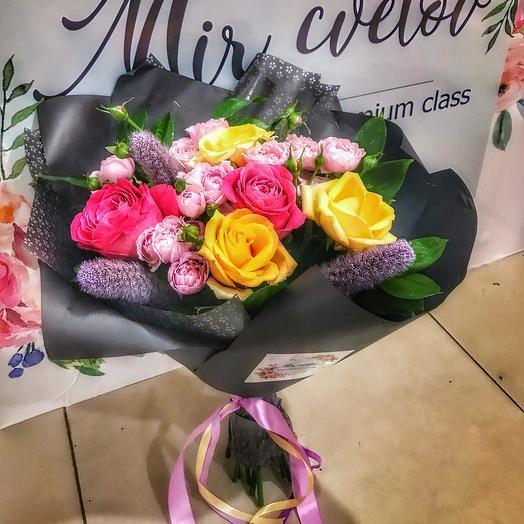 Букет «Black»: букеты цветов на заказ Flowwow