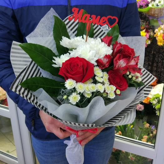 Любимой маме 4: букеты цветов на заказ Flowwow