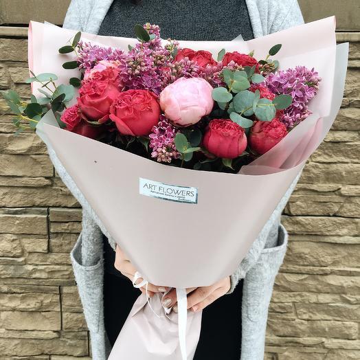 Малиновый Фреш: букеты цветов на заказ Flowwow