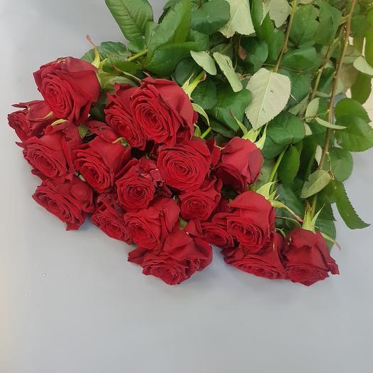 Свежие красные розы: букеты цветов на заказ Flowwow