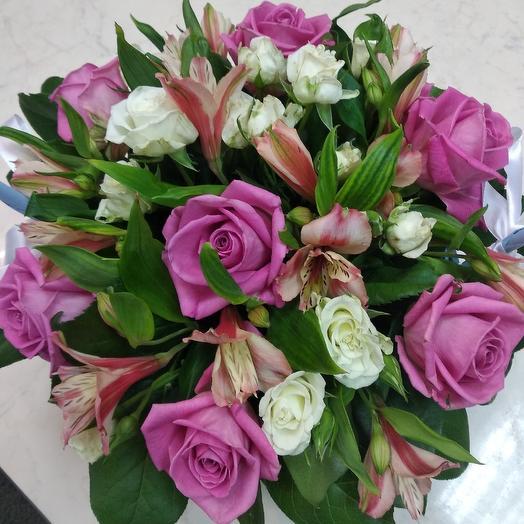 Корзинка: букеты цветов на заказ Flowwow