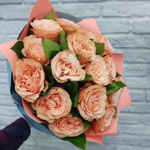 Пионовидный рай: букеты цветов на заказ Flowwow