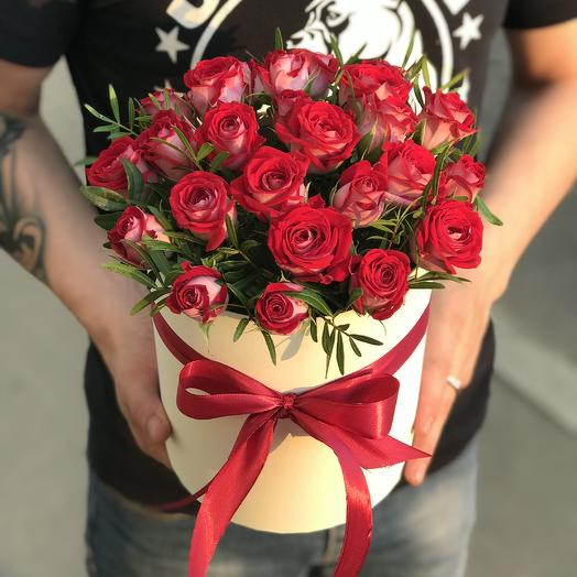 Би баблз в коробочке: букеты цветов на заказ Flowwow