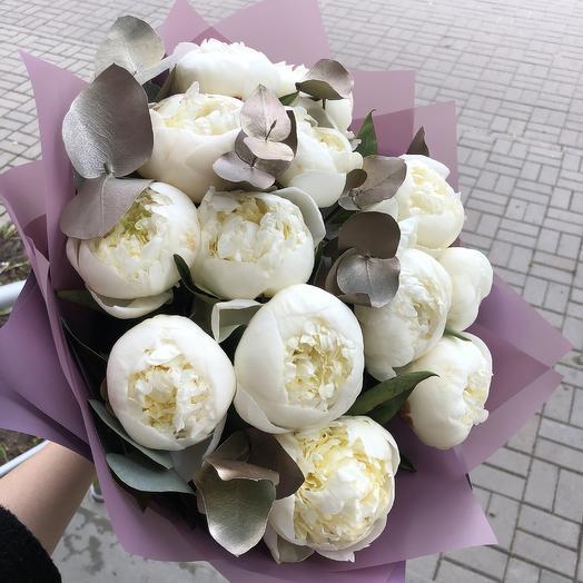 Шарики пломбира: букеты цветов на заказ Flowwow
