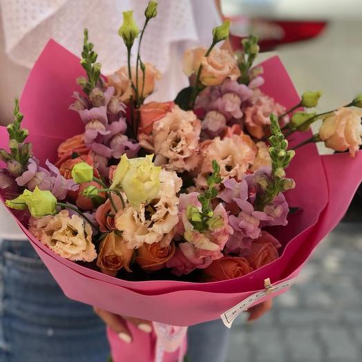 Прекрасный сюрприз: букеты цветов на заказ Flowwow