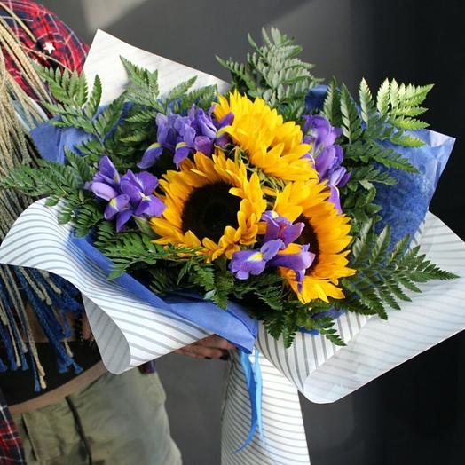 Солнечные мысли: букеты цветов на заказ Flowwow