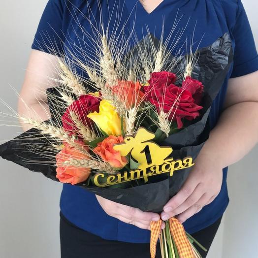 Букет на 1 Сентября 12: букеты цветов на заказ Flowwow