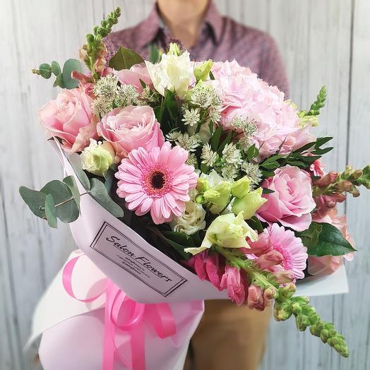 Верона пинк: букеты цветов на заказ Flowwow