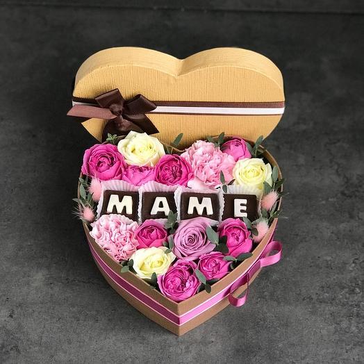 Маме💞: букеты цветов на заказ Flowwow