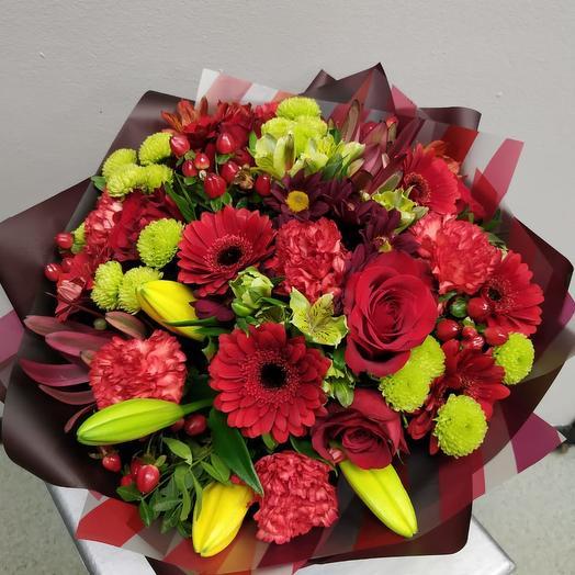 Авторский букет «Бонжур»: букеты цветов на заказ Flowwow