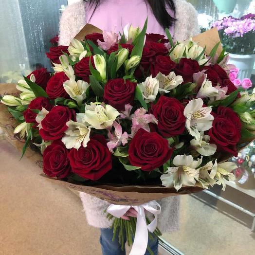 Нежная красотка: букеты цветов на заказ Flowwow